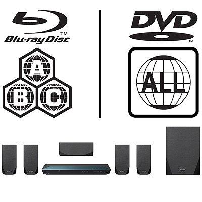 Sony BDV-E2100.CEK 3D MULTIREGION Blu-ray 5.1 Home Cinema System
