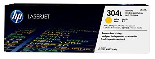 HP 304L Economy (CC532L) Gelb Original Toner für HP Color LaserJet CP2025, CM2320 -
