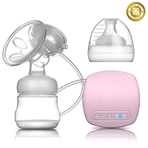 Elektrische Milchpumpe PROCHE Bequem / Spitze Absaugung / Geräuschlos Stillmilchpumpe, Baby-Milchpumpe für Arbeit und Reisen im Freien, USB-Lade, 9 Ebenen Massage & Absaugung