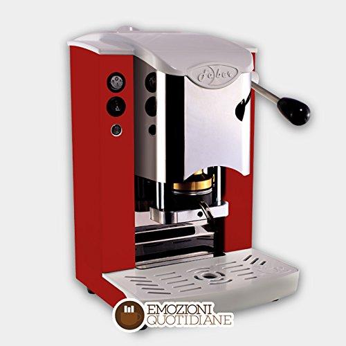 Faber Kaffeepadmaschine Faber Slot Inox für ESE-Pads 44mm, Farbe weiß