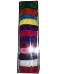 Shyam Hosiery Multicolor Hair Rubber Band_Pack Of 2 (24 Pcs)
