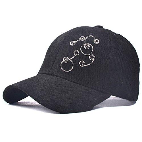 Belsen - Casquette de Baseball - Femme noir noir taille unique Noir
