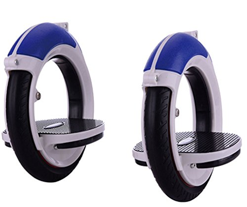 EVERYLON Overboard Mono Roller Skate Cycle Nuevo Modelo esclusivamente para Personas esperte, Unisex Adulto, Turquesa