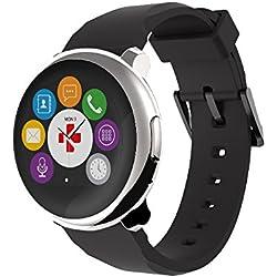 MyKronoz krzeround–Silver/Black Smart Watch