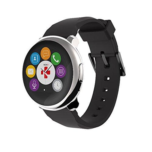MyKronoz krzeround-Silver/Black Smart Watch