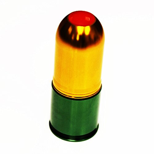 Airsoft Softair Ersatzteile Army Force PB/BB 40mm CO2 Granaten Patronenhülse Grenade Cartridge Shell (Granate Bb)