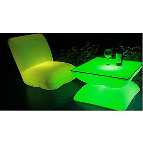 Moderno. Luce LED Bar Mobili 16 colori programma di controllo remoto LED impermeabile LED Sgabelli Sedie Tavolino Divano luce sedia . 60*60*80 chair