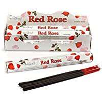 Stamford Red Rose Räucherstäbchen, Duft rote Rose, 20Stück pro Pack, 6Pack preisvergleich bei billige-tabletten.eu