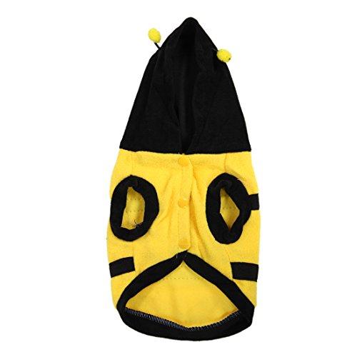 Imagen de toogoo r atuendo para mascota ropa abrigo de perro perrito yorkie abeja abejorro traje disfraz s