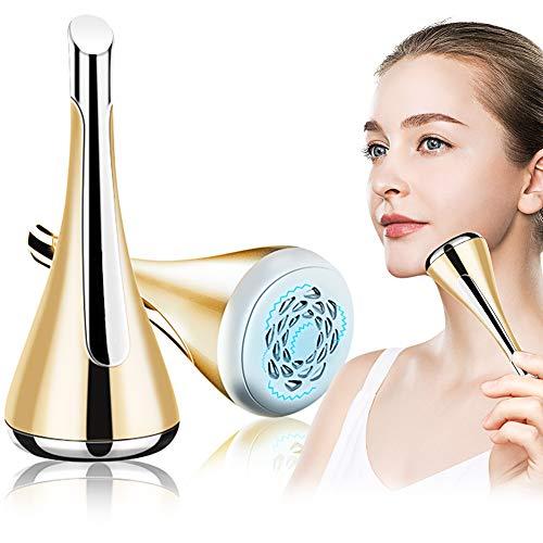 hönheitsgerät, Ultraschall Gesichtsgerät, Anti Aging Antifalten Massagegerät,Mikro-Strom Radio Frequenz SPA Kosmetisches Gerät für Gesichtsbehandlung,Mikro Vibration Ionen Funktion ()