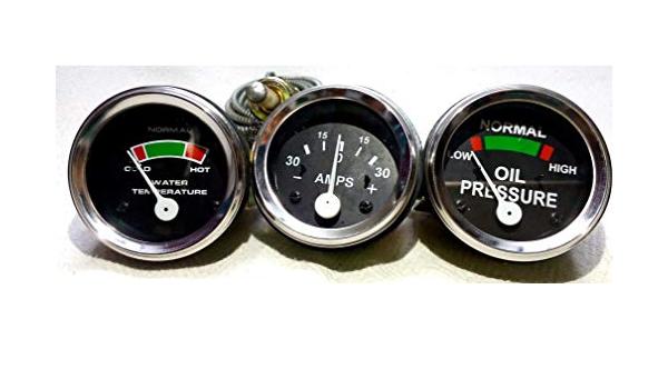 Massey Ferguson Traktor Messgerät Set Ölpr Männlich Temperatur Amperemeter Mf 35 50 65 135 150 Auto