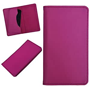 DCR Pu Leather case cover for Samsung Galaxy core max (pink)