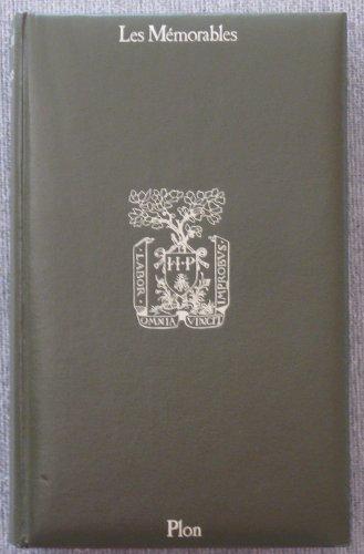 Memoires 1754 1815