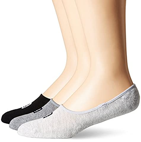 SPERRY Men's 3 Pair Pack Cushion Canoe Liner Socks, Navy, 10-13/Shoe Size 6-12