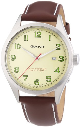 GANT Men's Quartz Watch W70461 with Leather Strap