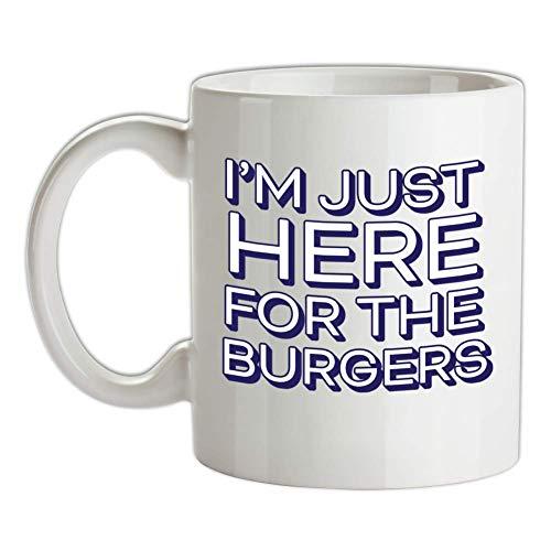 Dressdown Here for The Burgers Bedruckte Kaffee- und Teetasse