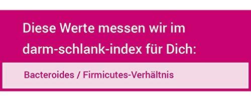for you darm-schlank-index I zertifizierter Labor Test zur Messung vom Verhältnis der Bacteroidetes und Firmicutes Bakterien in Deinem Darm I Stuhlprobe Selbsttest Darm Test