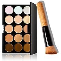 S LGM240511+700097, Susenstone, 15-colour, make-up, concealer palette with make-up brush (Home & Garden)