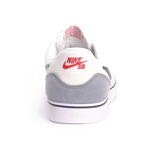 Nike Paul Rodriguez 9 Vr, Scarpe da Skateboard Uomo Multicolore - Blanco / Azul / Marrón (Smmt Wht / Drk Obsdn-Gm Lght Brw)