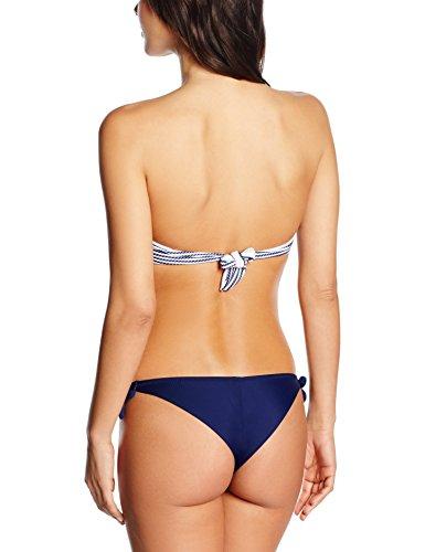 Bellissima Damen Bikini-Set Bikini Cannes Mehrfarbig (bianco/blue 9)