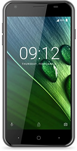 Acer Liquid Z6 Téléphone débloqué 4G (Ecran: 5 Pouces - 8 Go - Double Micro-SIM - Android 6 Marshmallow) Gris Foncé