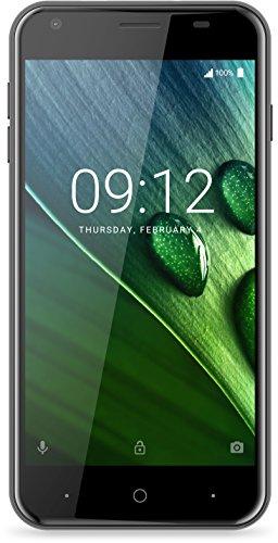 Acer Liquid Z6 Dual Micro-SIM Smartphone (12,7 cm (5 Zoll) HD Display, 8GB Speicher, 2.000mAh Akku, 4G (LTE), Android 6.0) schwarz