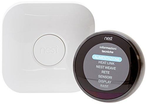 Nest Termostato 3A Generazione, Nero