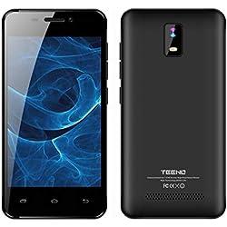 """TEENO 4.0"""" HD IPS Téléphone Portable Débloqué 4G 1Go RAM 8Go ROM (Android Double SIM Slot Double Caméras Quad Core) Noir"""