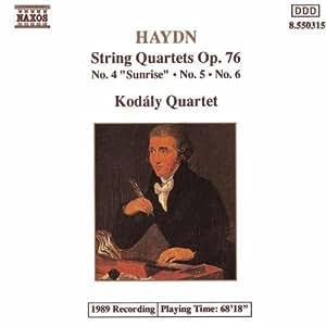 Haydn : Quatuors à cordes Op. 76, n° 4, 5 et 6