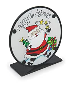 """Fountasia Weihnachtsmann mit Geschenken, 6-""""Sonne und Teelichthalter"""