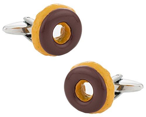 doughnut-cufflinks