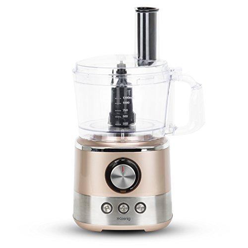 H.Koenig MIX330 Robot Multifonctions 1,2L, 1000W, 3...