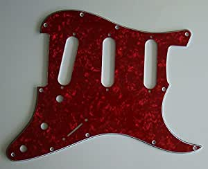 Northwest Guitars Plaque de guitare Stratocaster pour Fender originale Rouge perle