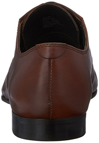Kenneth Cole NY Mix-Er Herren Rund Leder Slipper Cognac