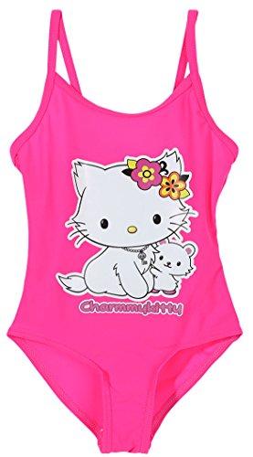 Charmmy Kitty Badeanzug Neon Kinder Mädchen 3bis 8Jahren