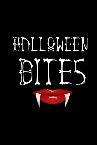 Halloween Bites Blank Paperback Vampire Journal