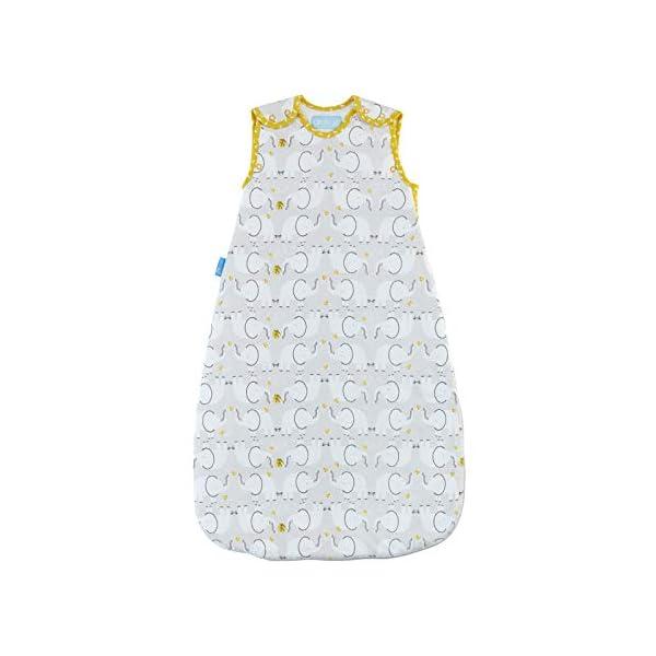 Grobag – Saco de dormir, diseño de elefante Talla:6-18 Months