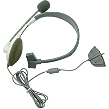 New Wired Headset Headphone With Microphone MIC For Xbox 360 Controller Game