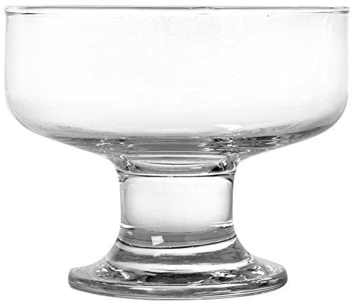 UTOPIA E020Saxon Dessertschalen aus Glas, 260ml (24Stück)