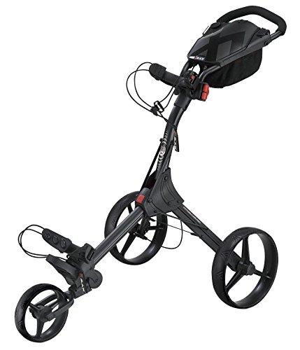BIG MAX IQ+ Golftrolley Cart - 2015 Modell (Schwarz)