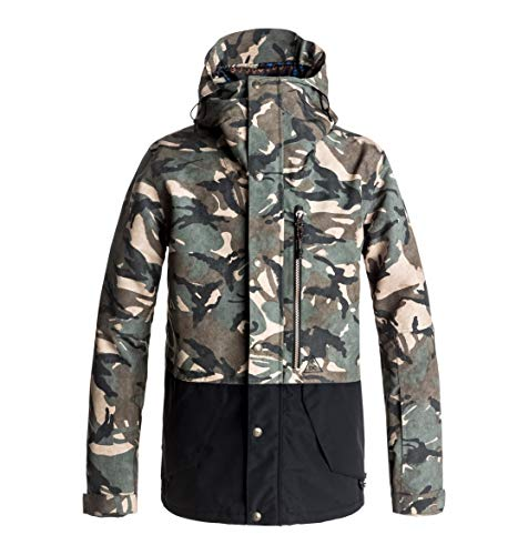 DC Shoes Outlier - Snow Jacket for Men - Snow Jacke - Männer - S - Braun