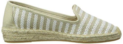 ESPRIT Damen Ines Stripes So Espadrilles Beige (260 light taupe)