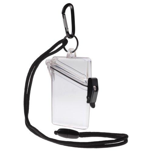 Witz (begriffsklärung Siehe ES Sicher Wasserdicht ID/Badge Holder Fall, Gepäck, farblos -