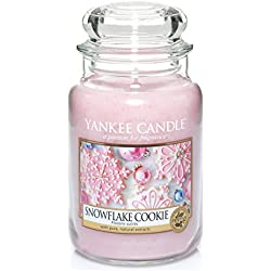 Yankee Candle 1275342E Snowflake Cookie Cassis Grosses Jar