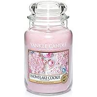 Yankee Candle Large Jar Candle, Snowflake Cookie