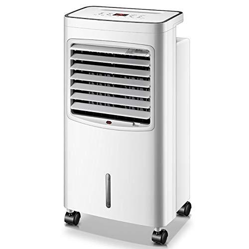 GUOWEI Klimaanlage Ventilator Luftkühler Heizung Verdampft Befeuchtet Luftfilterung Haushalt Büro Wohnheim Mit Fernbedienung (Color : White)
