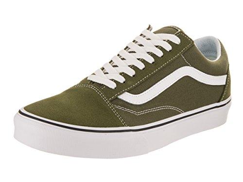 Vans Unisex Erwachsene Old Skool Sneaker Low-Tops Gr眉n (Winter Moss/true White)