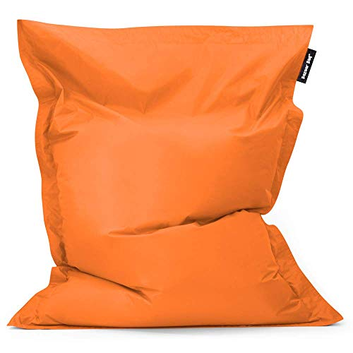 Bean Bag Bazaar Bazaar Bag - Naranja, 180cm x 140cm, Puf Gigante para