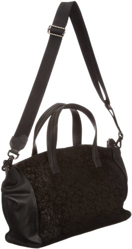 Bugatti Bags Sac bandoulière Marlene Paris Shopper,  - Schwarz (schwarz 01), 496710 Schwarz (schwarz 01)