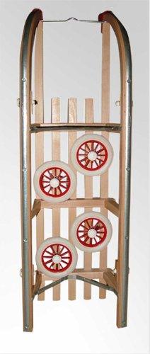Roll Rodel Bausatz Rollen Räder Reifen für Schlitten Rollschlitten - 5